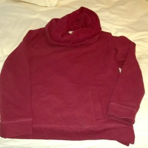 J. Crew cowl neck sweatshirt